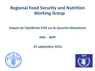 Regional Food Security and Nutrition Working Group