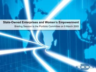 State-Owned Enterprises and Women's Empowerment