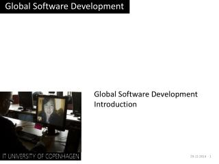 Global Software Development