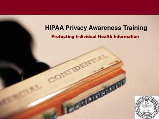HIPAA Privacy Awareness Training