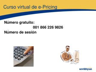Curso virtual de e-Pricing