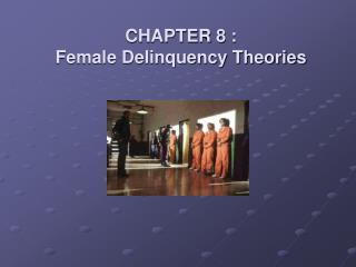 CHAPTER 8 : Female Delinquency Theories