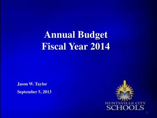 Annual Budget Fiscal Year 2014
