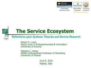 The Service Ecosystem
