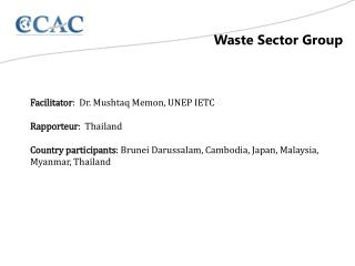 Waste Sector Group