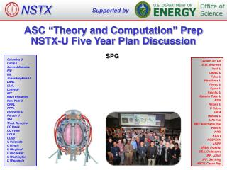"ASC ""Theory and Computation"" Prep NSTX-U Five Year Plan Discussion"