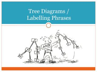 Tree Diagrams / Labelling Phrases