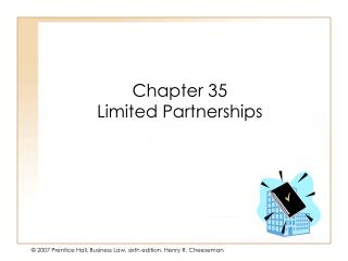 Chapter 35 Limited Partnerships