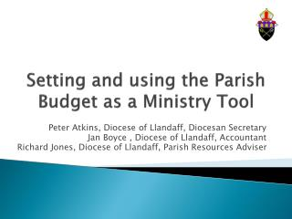 Setting and using the Parish Budget as a Ministry Tool