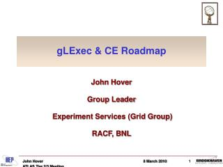 gLExec & CE Roadmap