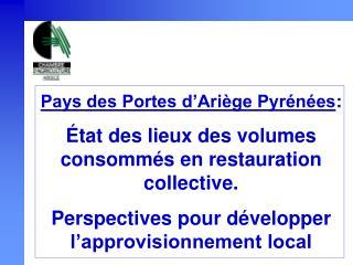 Pays des Portes d'Ariège Pyrénées :