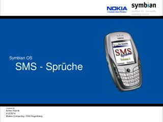 SMS - Sprüche