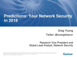 Predictions: Your Network Security in 2018
