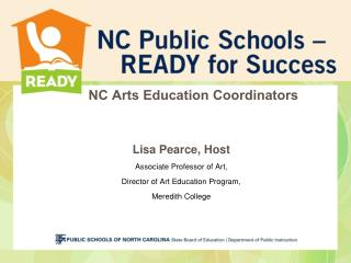 NC Arts Education Coordinators