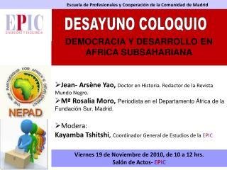 Escuela de Profesionales y Cooperación de la Comunidad de Madrid