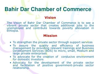 Bahir Dar Chamber of Commerce
