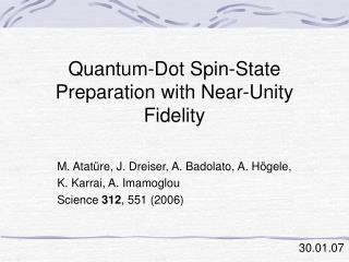 Quantum-Dot Spin-State Preparation with Near-Unity Fidelity