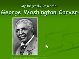My Biography Research: George Washington Carver
