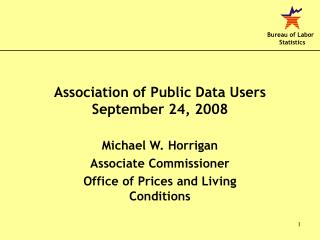 Association of Public Data Users September 24, 2008