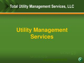 Utility Management Services