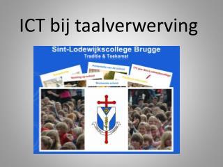 ICT bij taalverwerving