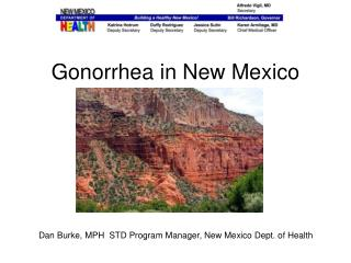 Gonorrhea in New Mexico