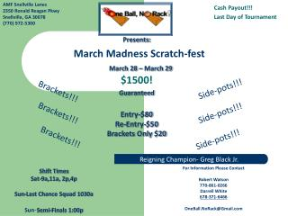 March Madness Scratch-fest