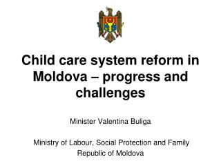 Child care system reform in Moldova – progress and challenges