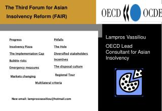 The Third Forum for Asian  Insolvency Reform FAIR