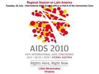 Regional Session on Latin America