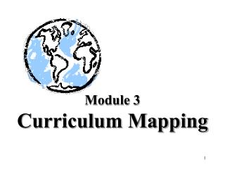 Module 3 Curriculum Mapping