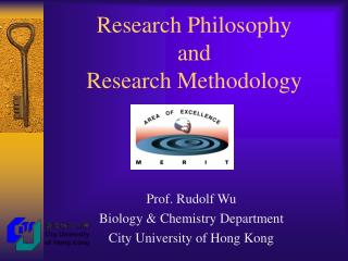 Research Philosophy  and  Research Methodology