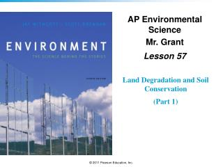 AP Environmental Science Mr. Grant Lesson 57
