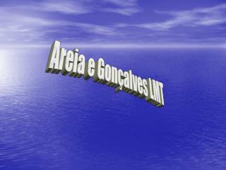 Areia e Gonçalves LMT
