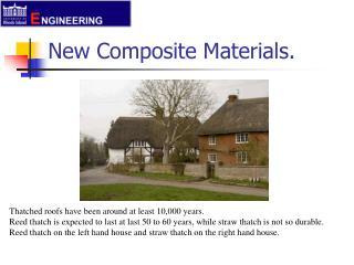 New Composite Materials.