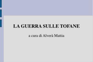 LA GUERRA SULLE TOFANE a cura di Alverà Mattia