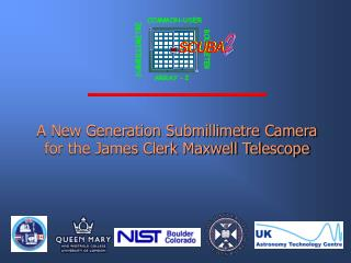 A New Generation Submillimetre Camera for the James Clerk Maxwell Telescope