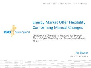 AUGUST 6 , 2014 | NEPOOL markets committee