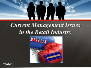 Current Management Issues  in the Retail Industry