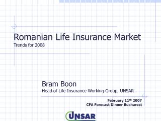Romanian Life Insurance Market Trends for 2008