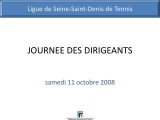 JOURNEE DES DIRIGEANTS