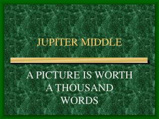 JUPITER MIDDLE