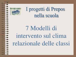 I progetti di Prepos nella scuola