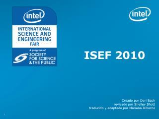 ISEF 2010
