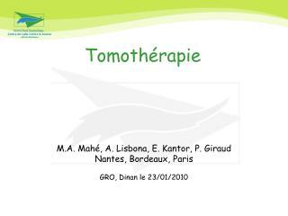 Tomothérapie
