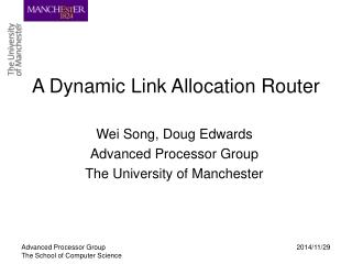 A Dynamic Link Allocation Router