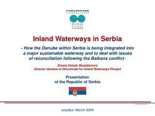 Presentation of the Republic of Serbia