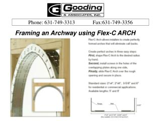 Framing an Archway using Flex-C ARCH