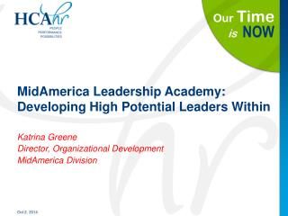 MidAmerica Leadership Academy: Developing High Potential Leaders Within