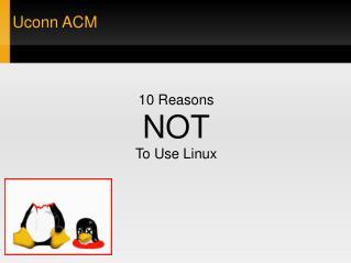 Uconn ACM